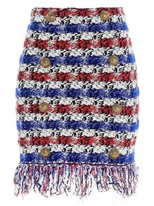 Balmain - Short skirt in multicolor