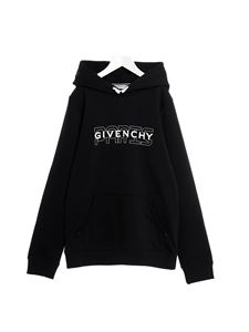 Givenchy - Branded hoodie in black