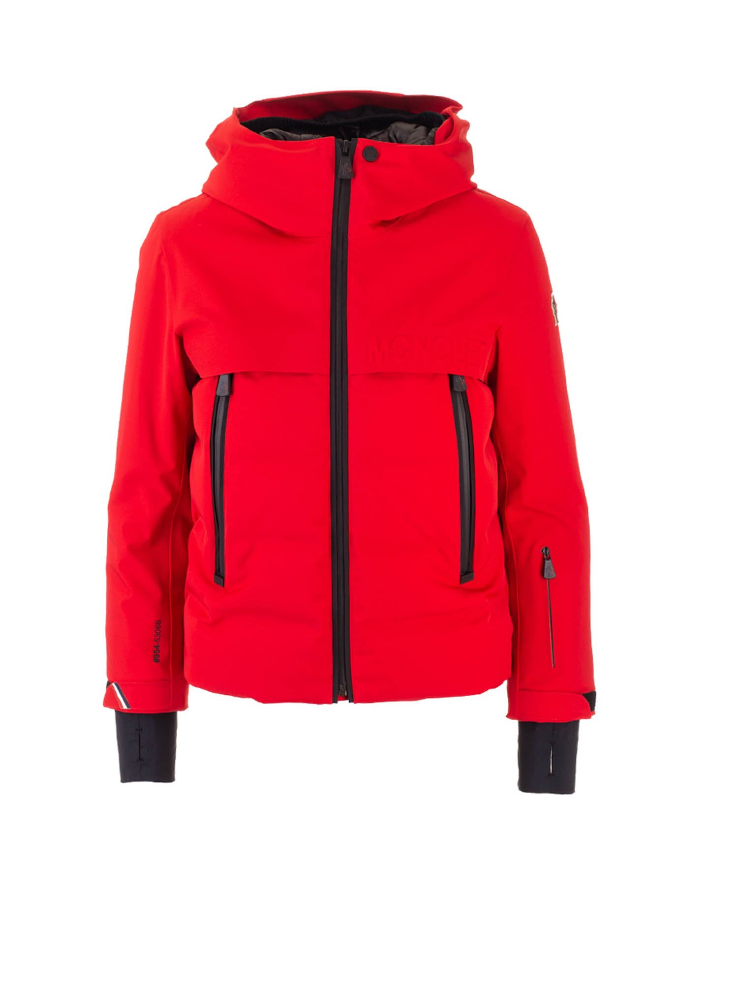Moncler Jr ACHENSEE MONCLER GRENOBLE DOWN JACKET IN RED