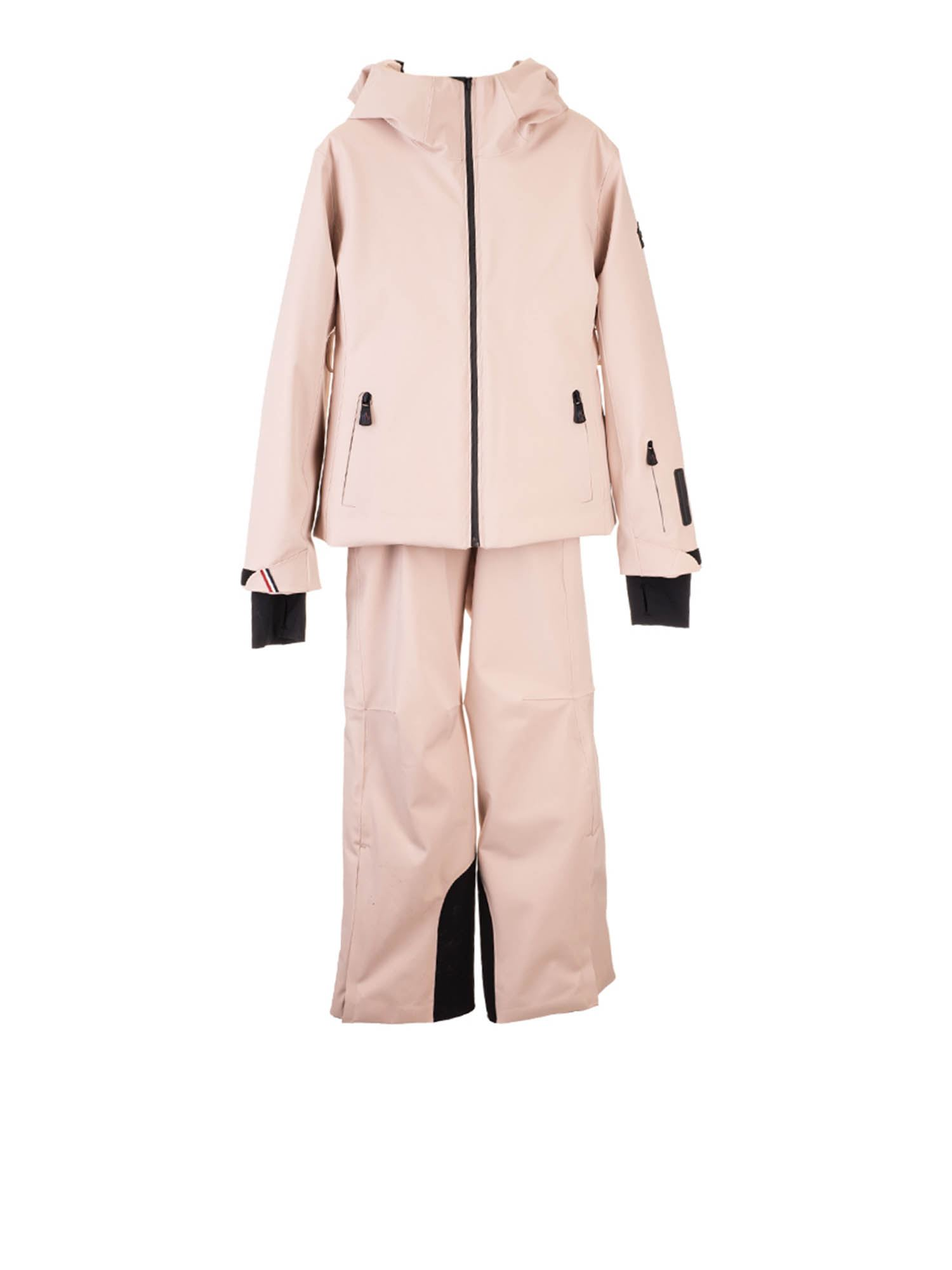 Moncler Jr EMBREE MONCLER GRENOBLE SUIT IN BEIGE