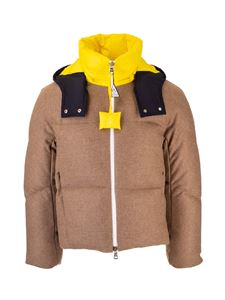 Moncler Genius - Stonory J.W. Anderson down jacket in camel