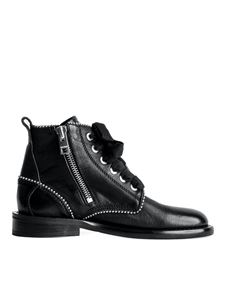 Zadig & Voltaire - Laureen Roma Studs ankle boots in black