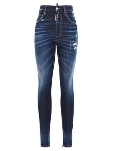 Dsquared2 - Twiggy jeans in blue