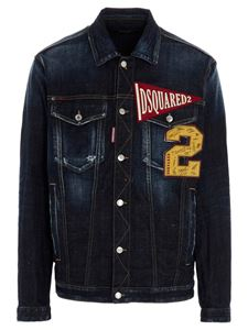 Dsquared2 - Over denim jacket in dark blue