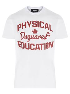 Dsquared2 - T-shirt Physical Education bianca
