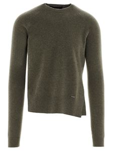 Dsquared2 - Pullover in lana verde