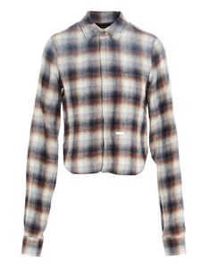 Dsquared2 - Check pattern shirt in white, red and blue