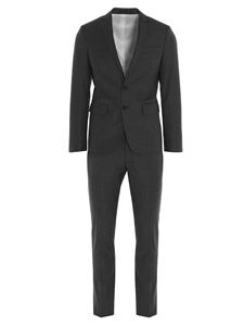 Dsquared2 - Pinstripe wool suit in grey