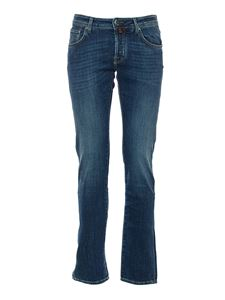 Jacob Cohën - 5 pockets jeans in blue