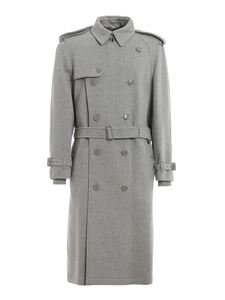 Burberry - Trench Westminster in jersey di cotone