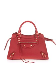 Balenciaga - Neo Classic Top Handle Small in red