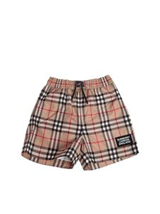 Burberry - Vintage check swim short in beige