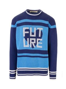Golden Goose - Future pullover in shades of blue