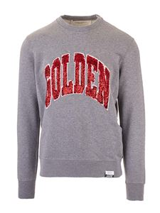 Golden Goose - Archibald sweatshirt in grey melange