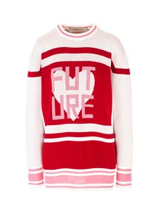 Golden Goose - Future pullover in red and white