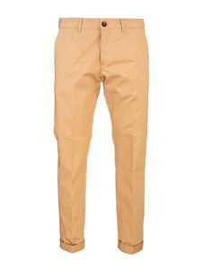 Golden Goose - Logo pants in beige