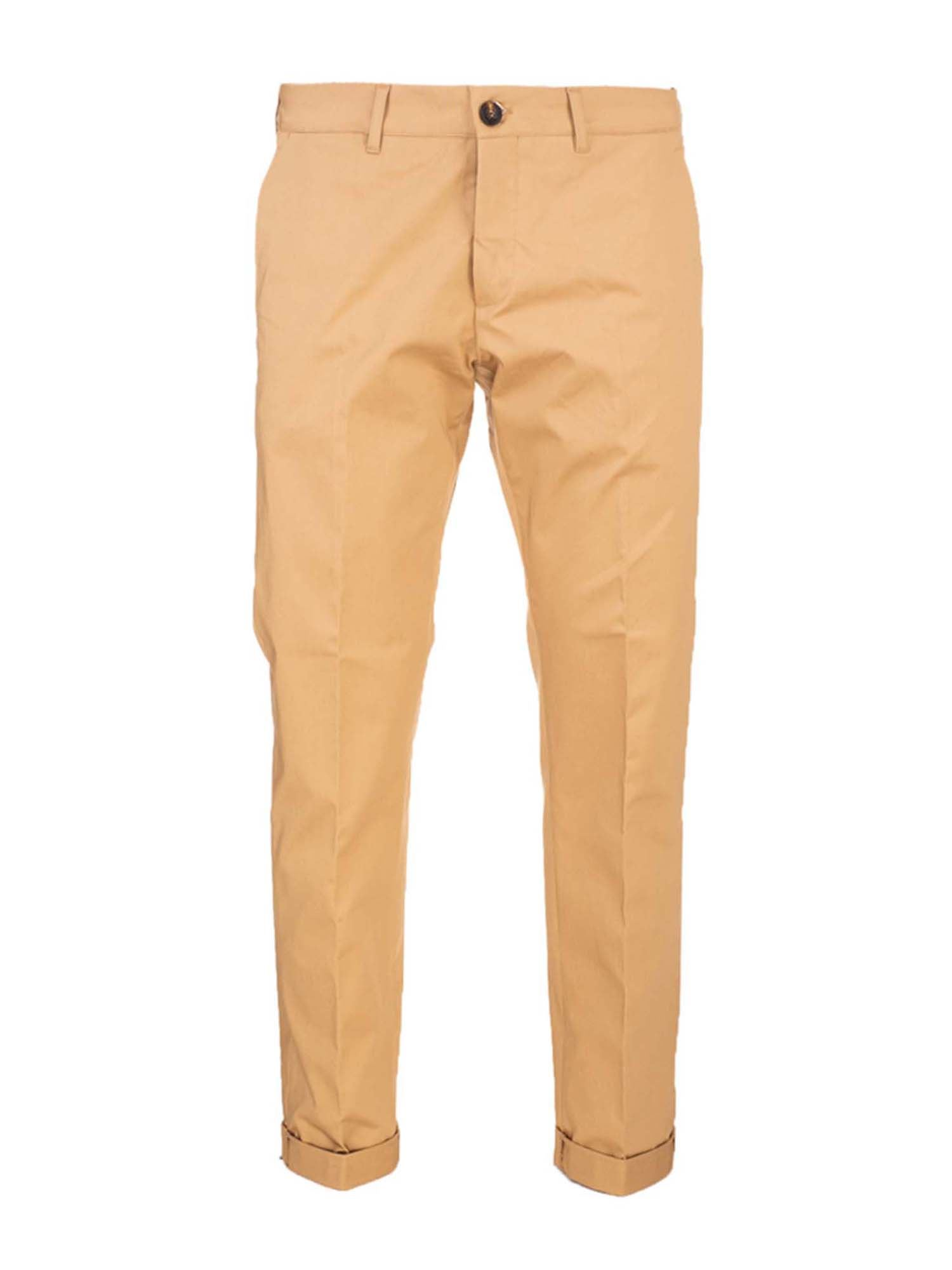 Golden Goose LOGO PANTS IN BEIGE