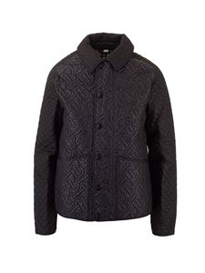 Burberry - Quilted monogram jacket in black