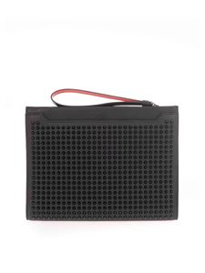 Christian Louboutin - Studded pouch in black