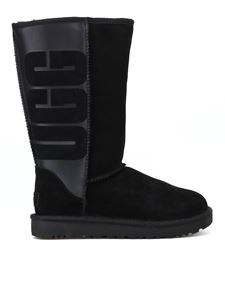 UGG - Classic Tall Ugg Rubber black boots