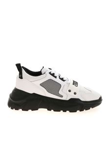 Versace Jeans Couture - Sneakers with rubberized logo in white