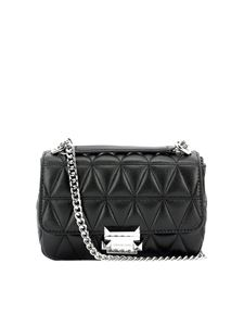 Michael Kors - Sloan small chain shoulder bag in black