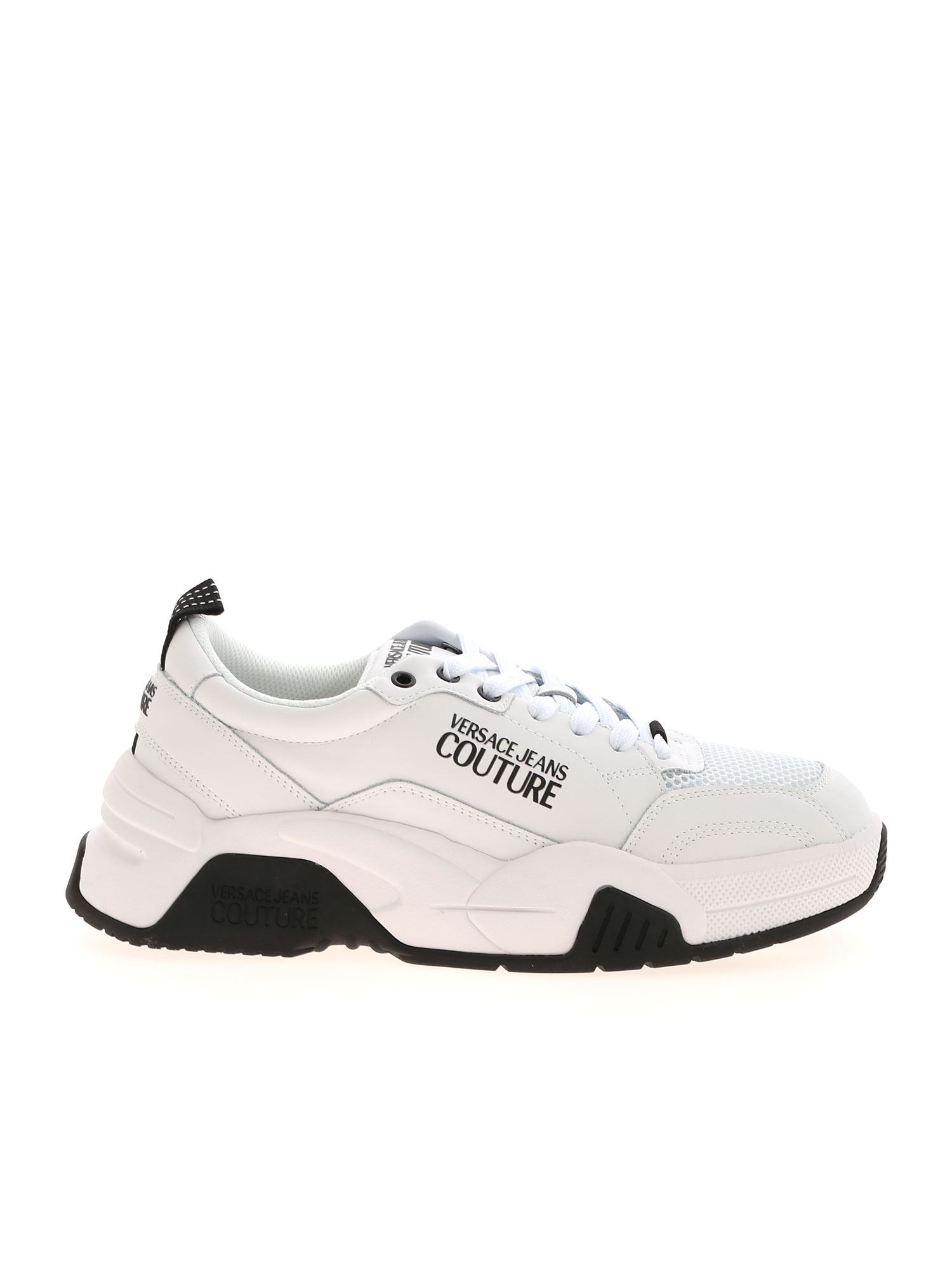 Versace Jeans Couture LOGO SNEAKERS IN WHITE