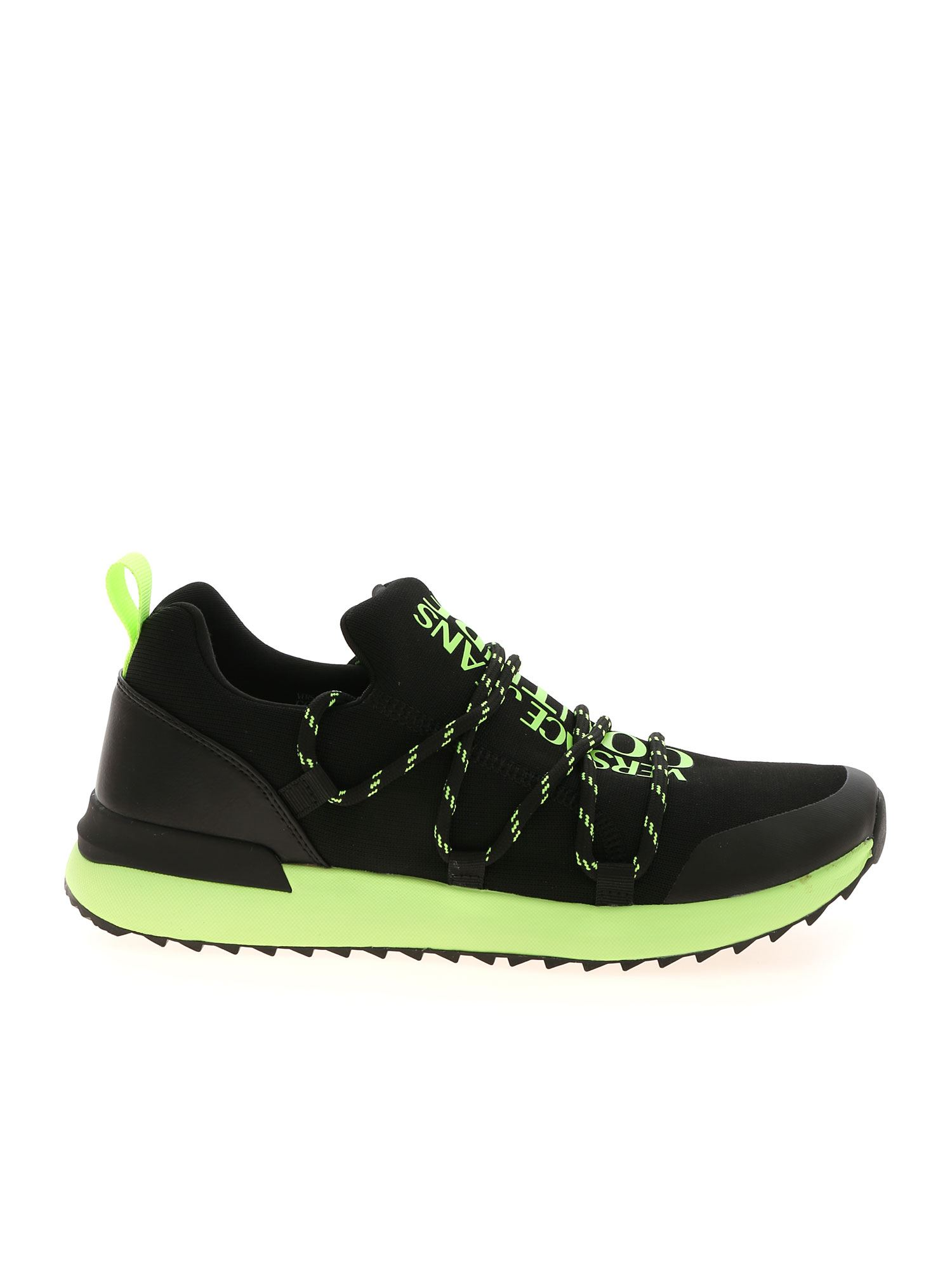 Versace Jeans Couture FLUO SNEAKERS IN BLACK