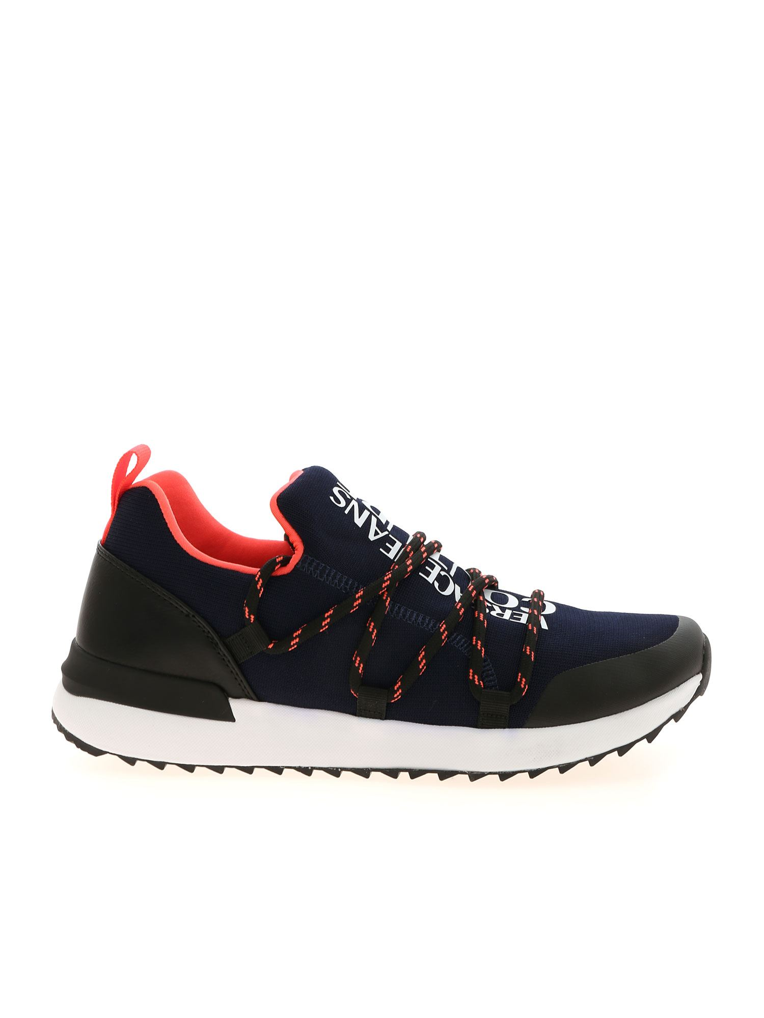 Versace Jeans Couture LOGO SNEAKERS IN BLUE