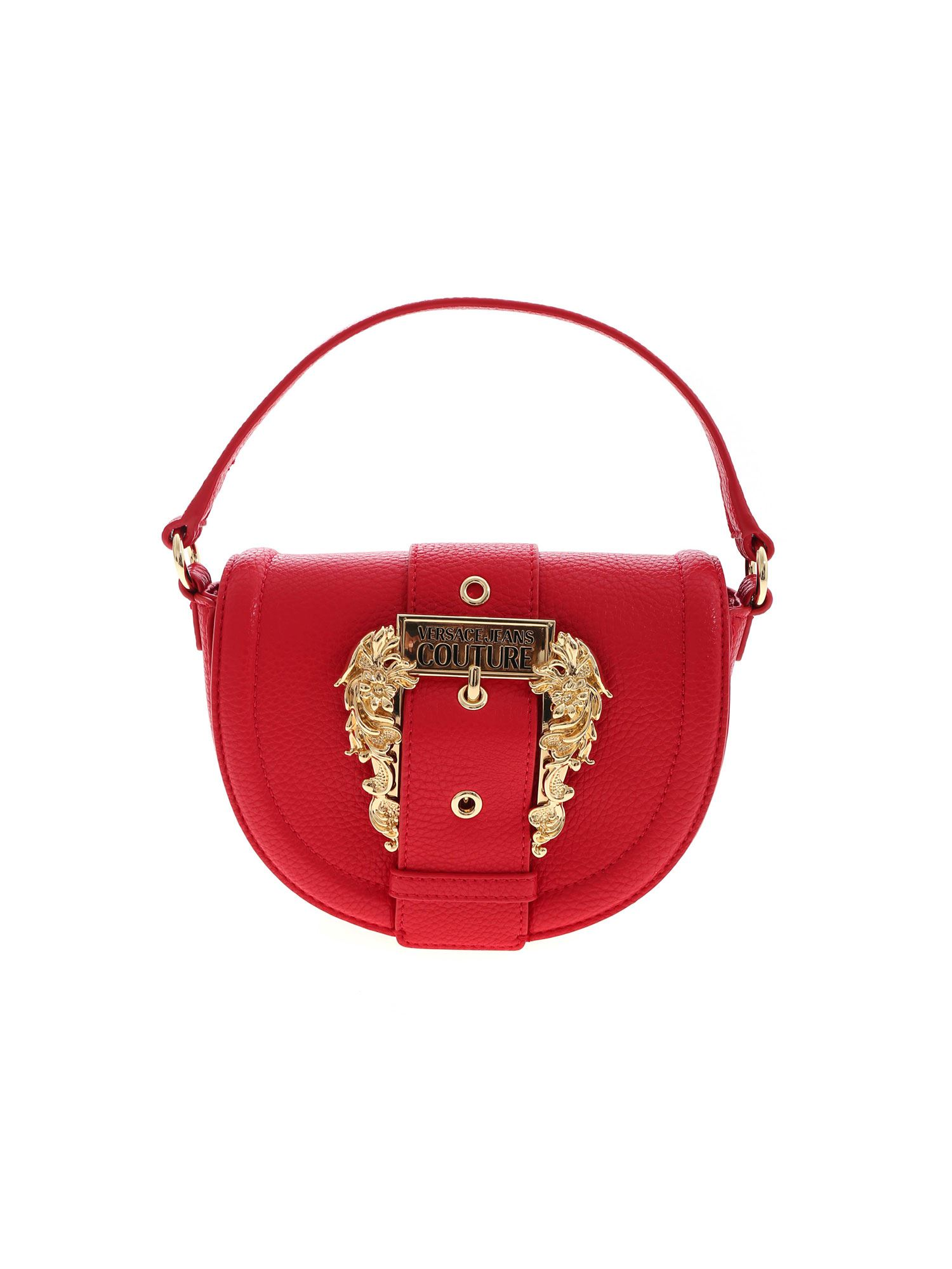 Versace Jeans Couture Leathers COUTURE HANDBAG IN RED