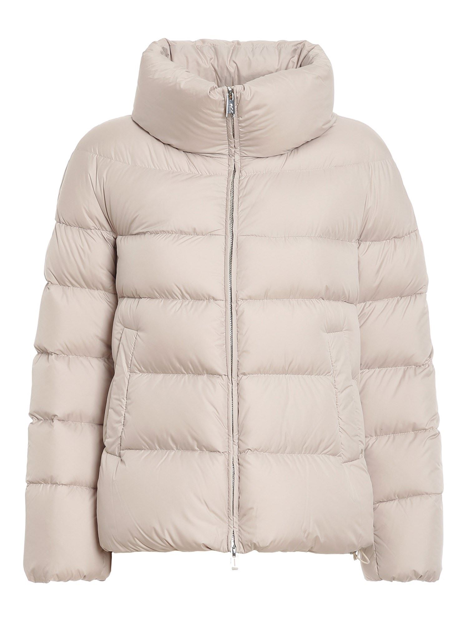 Add Downs ADD BEIGE QUILTED PUFFER JACKET