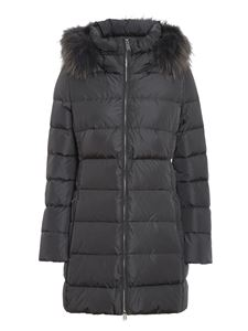 ADD - Quilted longuette puffer jacket