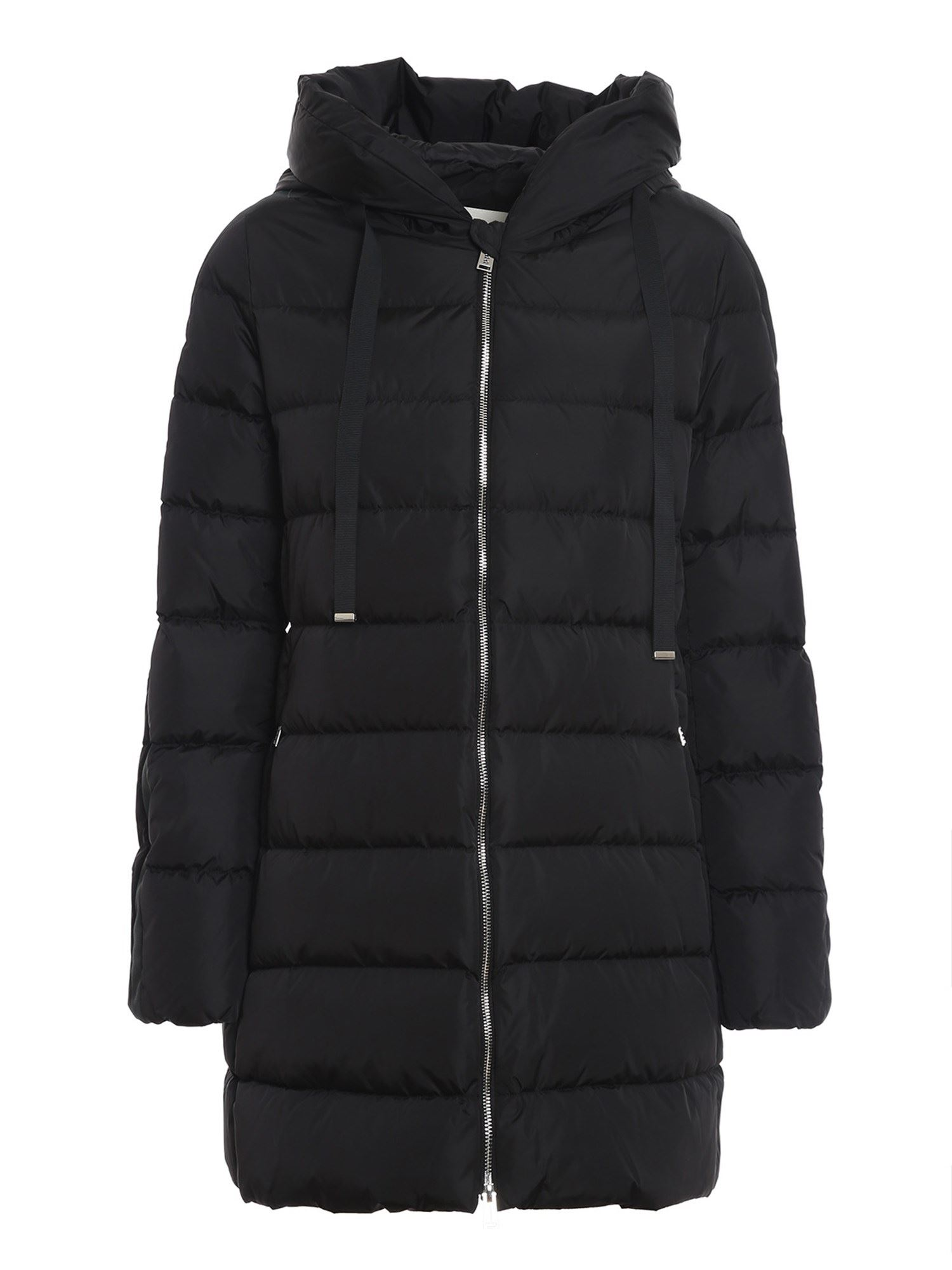 ADD ADD MATT EFFECT BLACK PUFFER JACKET
