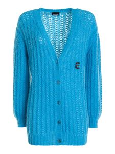 Ermanno by Ermanno Scervino - Wool-alpaca blend cardigan in blue