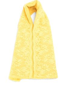 Ermanno by Ermanno Scervino - Yellow wool blend stole