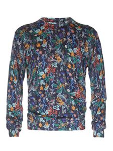 Etro - Pullover in lana con stampa floreale