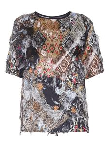 Etro - Multi-patterned T-shirt