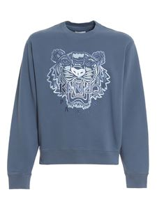 Kenzo - Tiger light blue sweatshirt