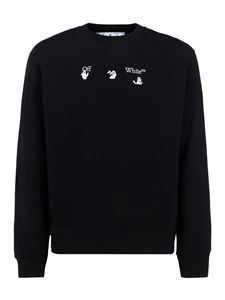 Off-White - Peace Worldwide sweatshirt in black