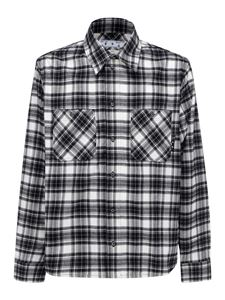 Off-White - Arrows check print shirt in black