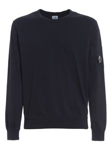 CP Company - Lightweight cotton sweatshirt in blue