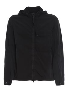 CP Company - Recycled fabric waterproof jacket in black