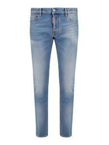 Dsquared2 - Light wash slim jeans