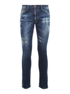 Dsquared2 - Cool Guy stretch jeans in blue