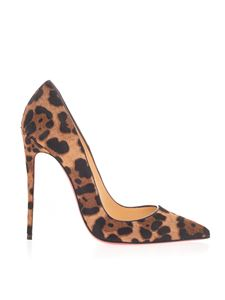 Christian Louboutin - So Kate 120 pumps in animal print