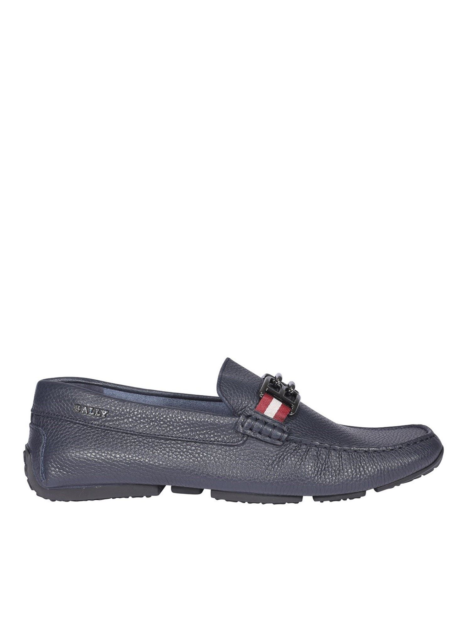 Bally PARSA LOAFERS IN BLUE