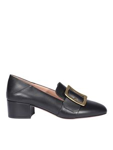 Bally - Janelle heeled loafers in black