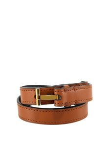 Tom Ford - Leather bangle in brown