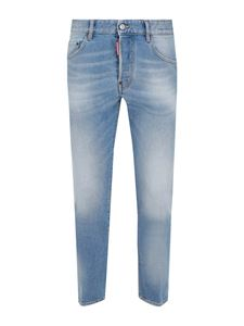 Dsquared2 - Skater super denim jeans in light blue