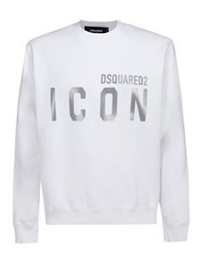 Dsquared2 - White cotton Icon sweatshirt